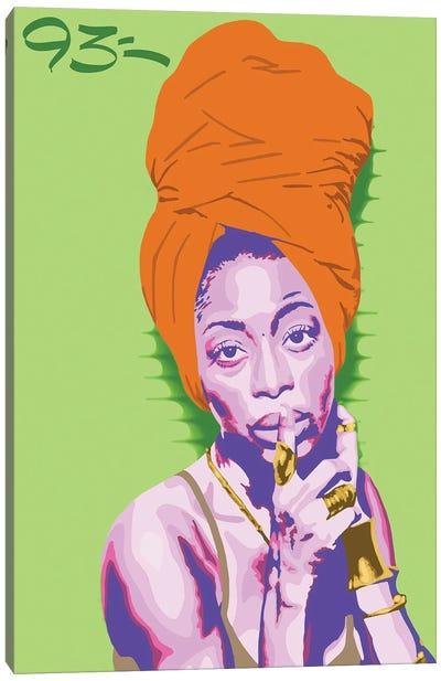 Erykah Badu Canvas Art Print