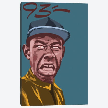 Tyler The Creator Canvas Print #NIT19} by 9THREE Canvas Print