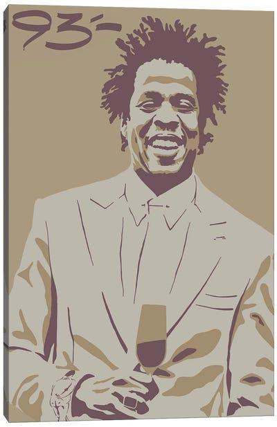 Jay Z Canvas Art Print