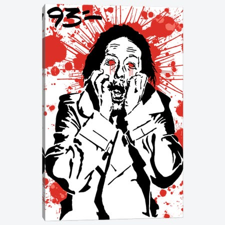 Thom Yorke Canvas Print #NIT24} by 9THREE Art Print