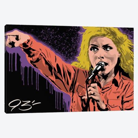 Blondie Canvas Print #NIT26} by 9THREE Art Print