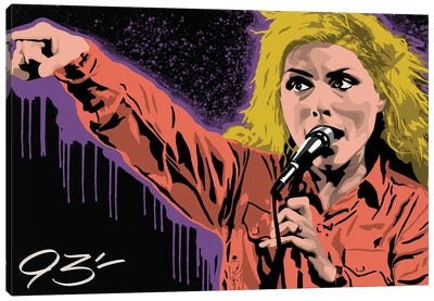 Blondie Canvas Art Print
