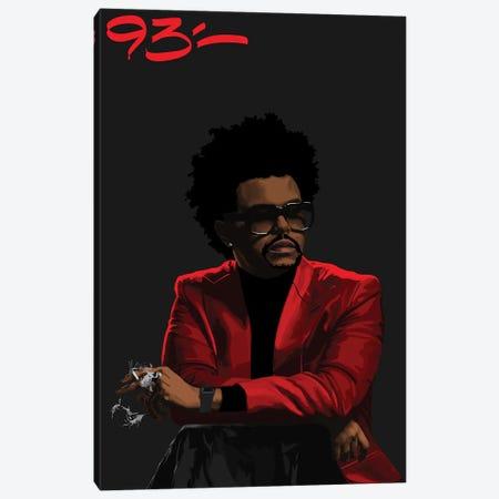 The Weeknd Canvas Print #NIT29} by 9THREE Canvas Artwork