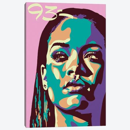 Rihanna Canvas Print #NIT3} by 9THREE Canvas Artwork