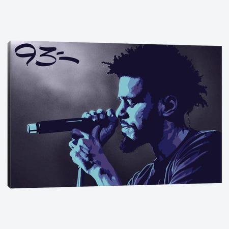 J Cole Canvas Print #NIT5} by 9THREE Canvas Print