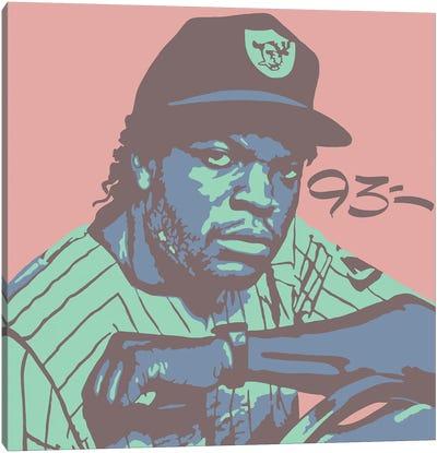 Ice Cube Canvas Art Print