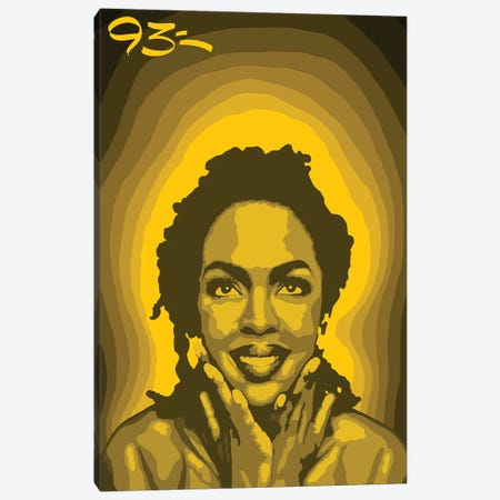 Lauryn Hill Canvas Print #NIT9} by 9THREE Canvas Artwork