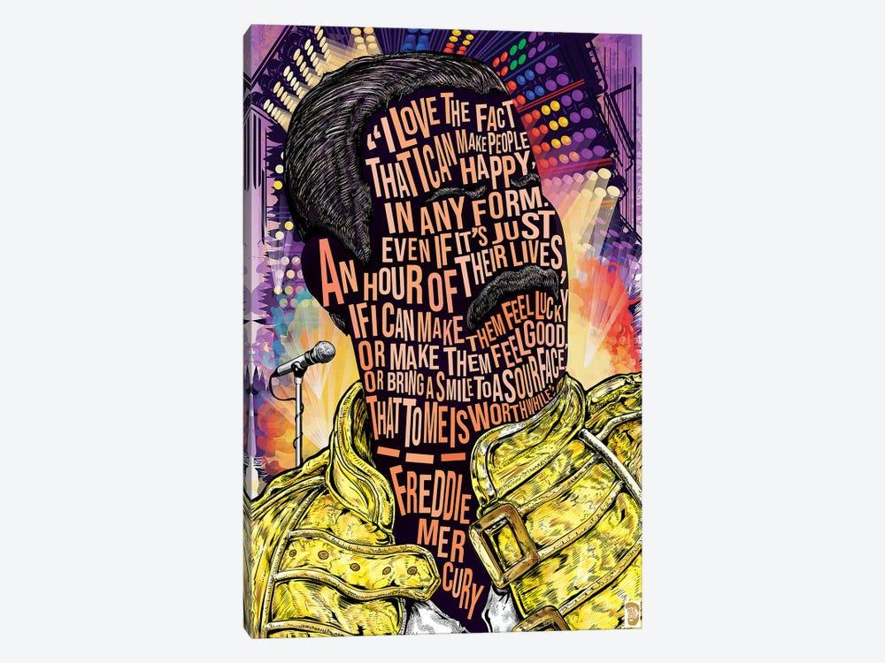 Freddie Merc by Nate Jones Design 1-piece Canvas Art Print