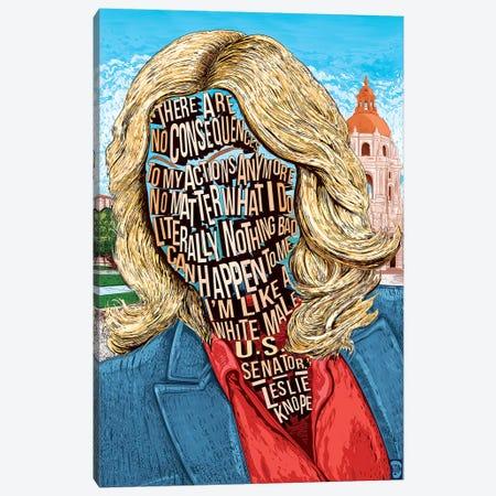 Leslie Canvas Print #NJO16} by Nate Jones Design Canvas Print