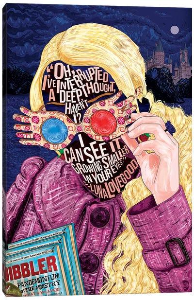 Luna Canvas Art Print