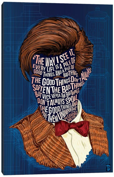 Matt Smith Canvas Art Print
