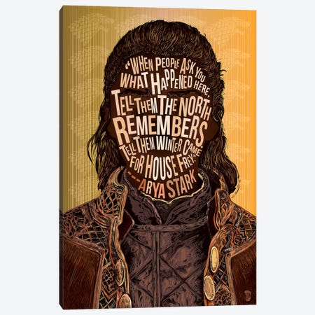 Arya Canvas Print #NJO1} by Nate Jones Design Canvas Art Print