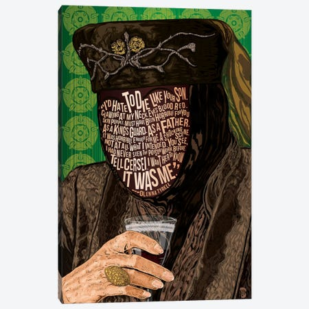 Olenna Canvas Print #NJO23} by Nate Jones Design Canvas Print
