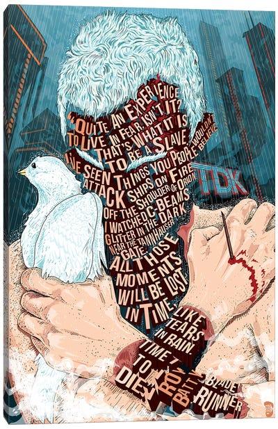 Roy Batty Canvas Art Print