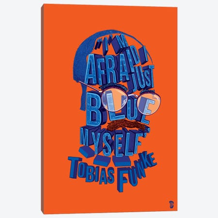 Tobias Canvas Print #NJO33} by Nate Jones Design Canvas Artwork