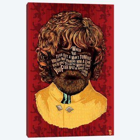 Tyrion Canvas Print #NJO34} by Nate Jones Design Art Print