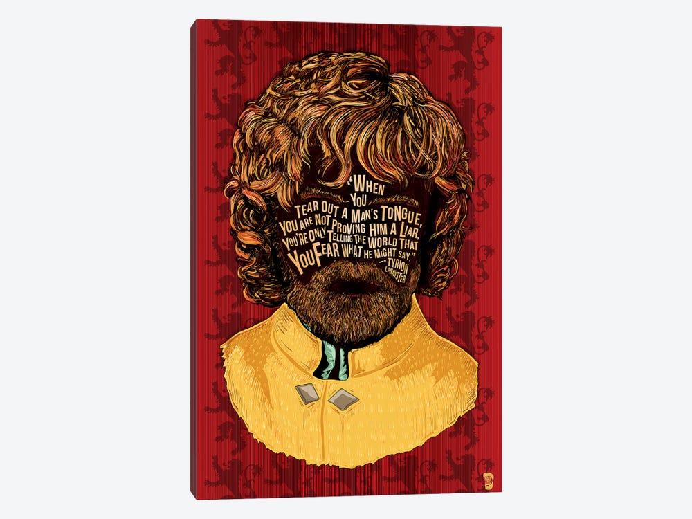 Tyrion by Nate Jones Design 1-piece Canvas Art Print