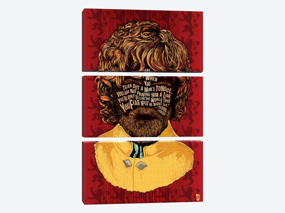 Tyrion by Nate Jones Design 3-piece Art Print