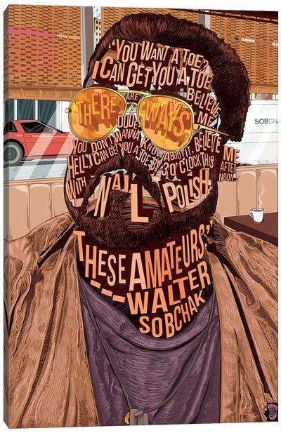 Walter Canvas Art Print