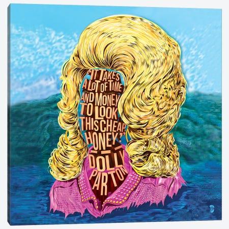 Dolly Canvas Print #NJO40} by Nate Jones Design Art Print