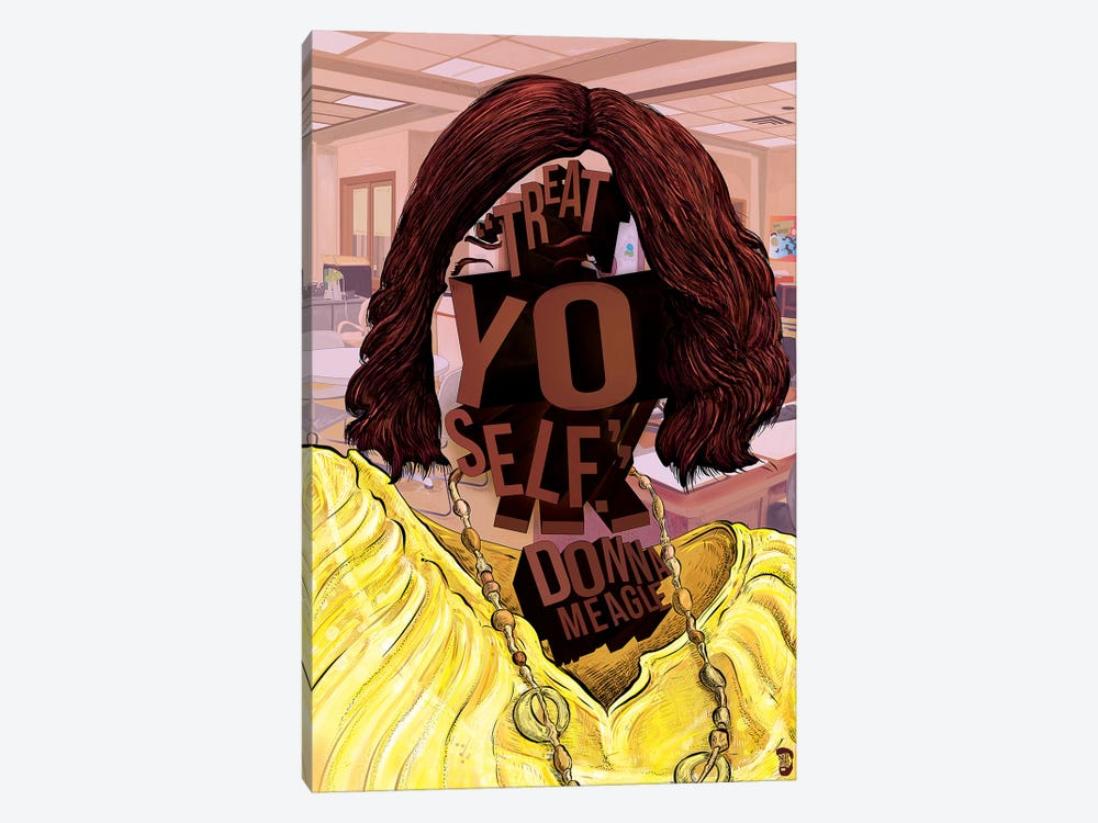 Donna by Nate Jones Design 1-piece Art Print