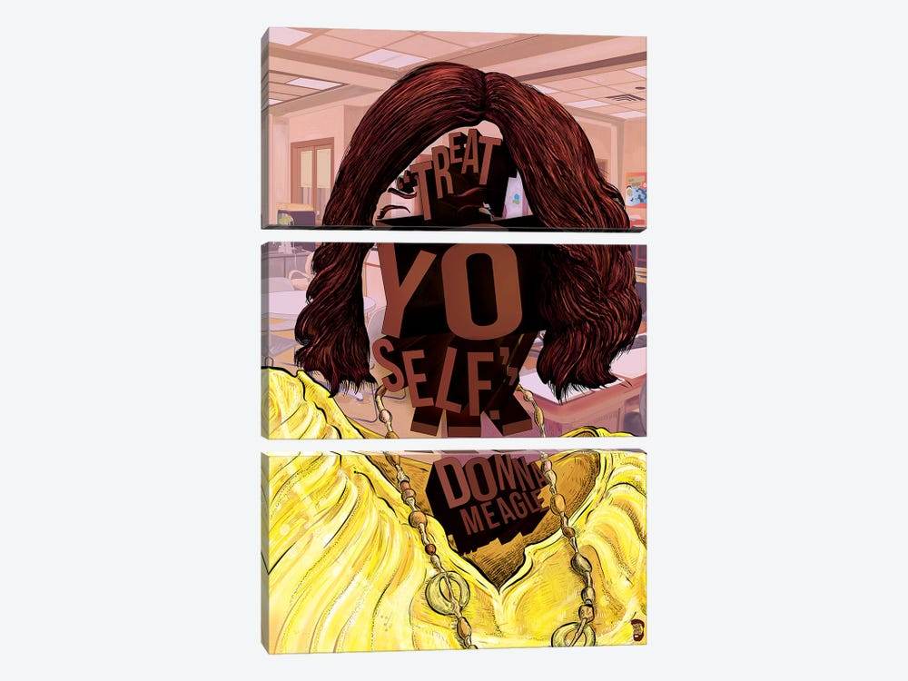 Donna by Nate Jones Design 3-piece Art Print
