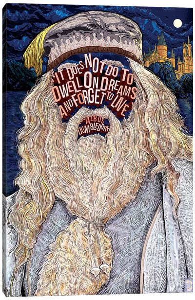 Dumbledore Canvas Art Print