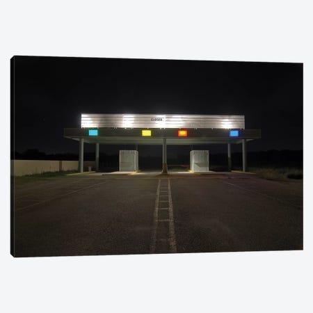Closed Canvas Print #NKE10} by Noel Kerns Art Print