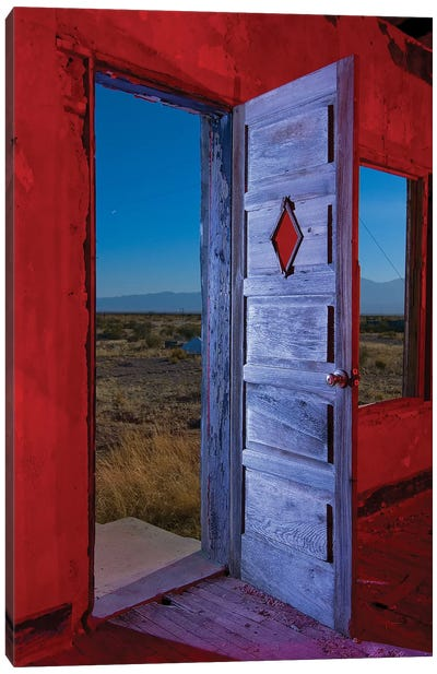 Diamond Door Canvas Print #NKE15