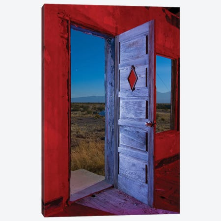 Diamond Door Canvas Print #NKE15} by Noel Kerns Canvas Wall Art