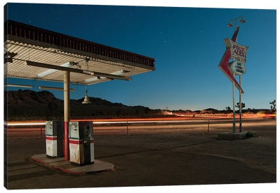 Gas Food Lodging Canvas Art Print