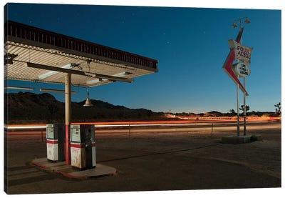 Gas Food Lodging Canvas Print #NKE19