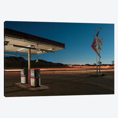 Gas Food Lodging Canvas Print #NKE19} by Noel Kerns Canvas Print