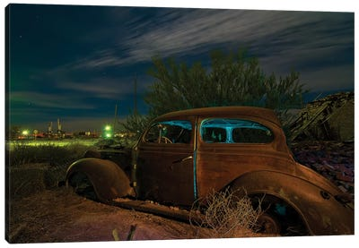 Getaway Car Canvas Art Print