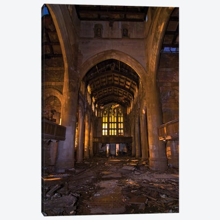 Gothic Canvas Print #NKE21} by Noel Kerns Canvas Artwork