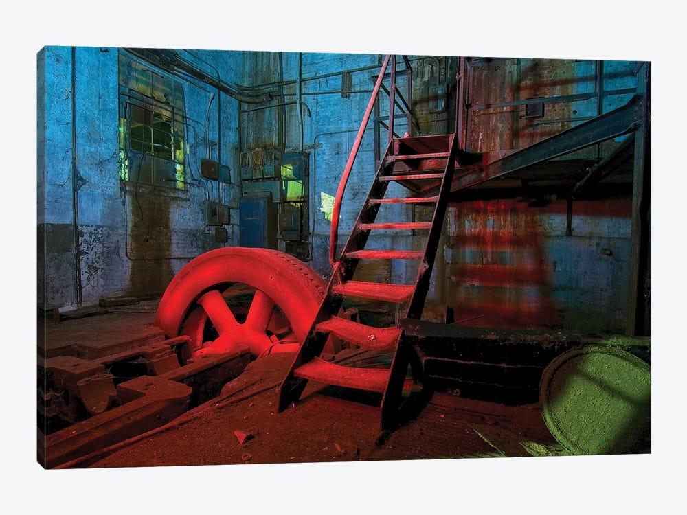 Hot Wheel by Noel Kerns 1-piece Canvas Print