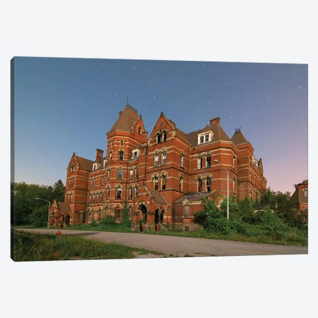 Hudson River Psychiatric Center Canvas Print #NKE24} by Noel Kerns Canvas Art Print