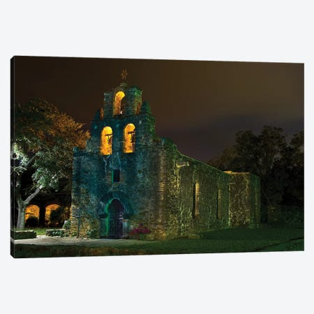 Mission Espada Canvas Print #NKE31} by Noel Kerns Canvas Print