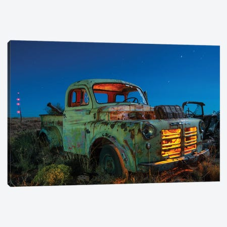 Overheated Canvas Print #NKE35} by Noel Kerns Canvas Artwork