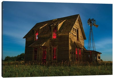 Pollard House Canvas Art Print
