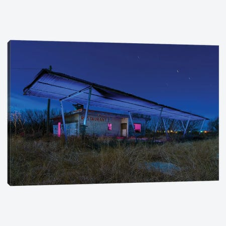 R staurant Canvas Print #NKE39} by Noel Kerns Canvas Print