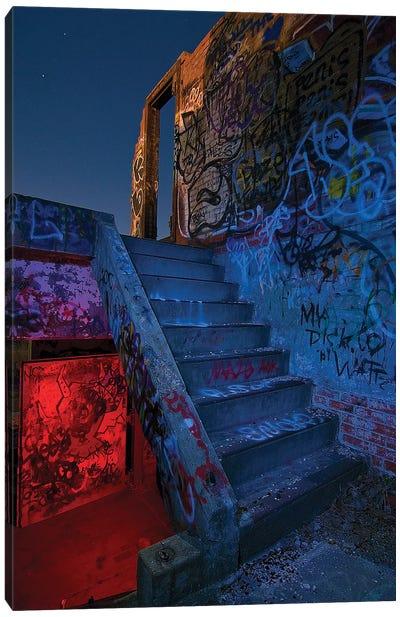 Stairway, Doorway Canvas Art Print