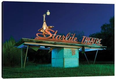Starlite Canvas Art Print
