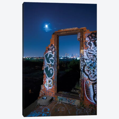 The Door Canvas Print #NKE49} by Noel Kerns Canvas Wall Art