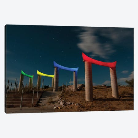 Torii II Canvas Print #NKE55} by Noel Kerns Canvas Art