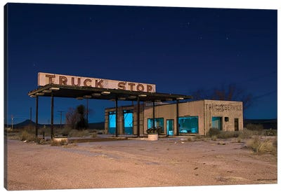 Truck Stop Canvas Art Print