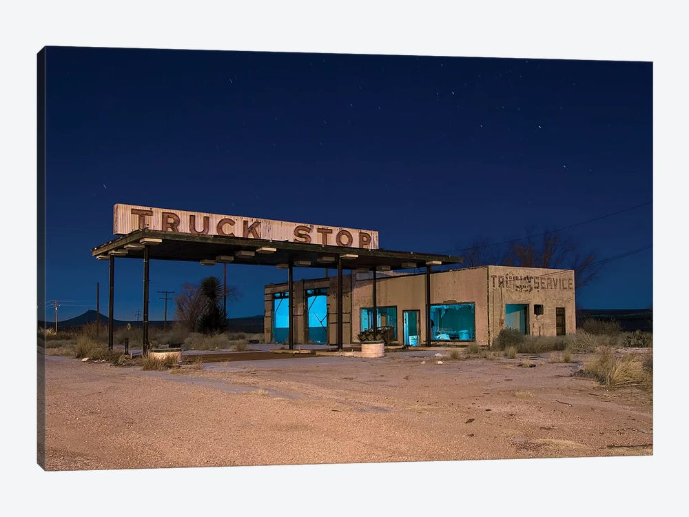 Truck Stop by Noel Kerns 1-piece Canvas Art Print