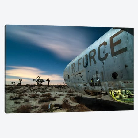US Air Force Canvas Print #NKE57} by Noel Kerns Canvas Artwork