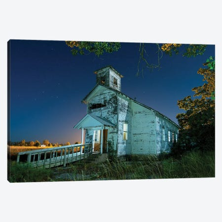 Christian Church Canvas Print #NKE61} by Noel Kerns Canvas Wall Art