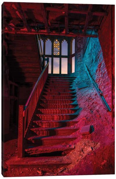 City Meth Stairs Canvas Art Print